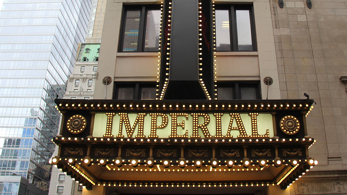 The Imperial Theatre Marquee