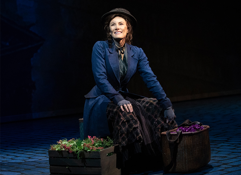 Laura Benanti in <i>My Fair Lady</i>. Photo by Joan Marcus.