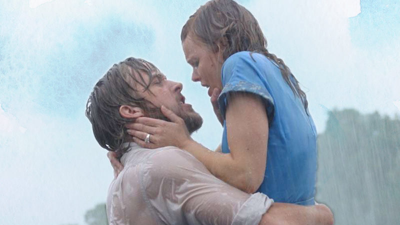 Ryan Gossling and Rachel McAdams in The Notebook, now being adapted as a musical