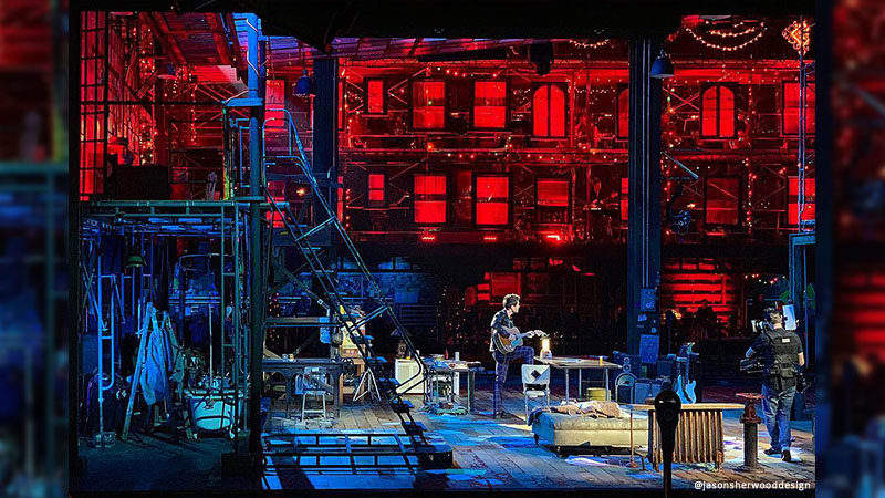 Jason Sherwood: Behind the Set for Rent Live on Fox
