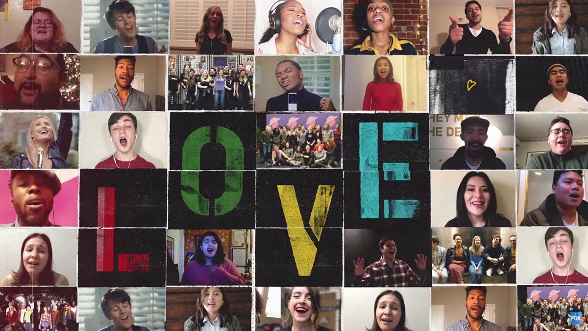"RENT Live on Fox ""Season of Love"" singalong"