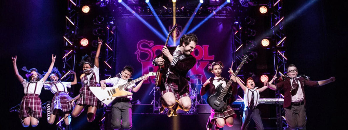 The Broadway company of School of Rock the Musical