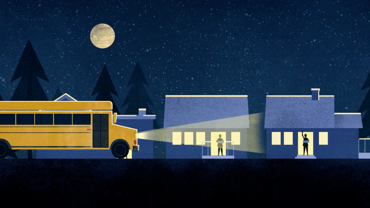 Come From Away Animated Video still