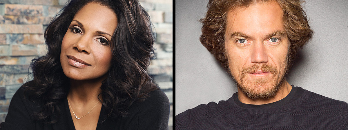 Frankie and Johnny in the Clair de Lune, Audra McDonald and Michael Shannon headshots
