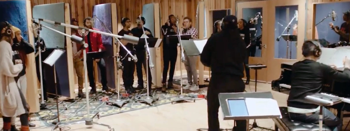 Ain't Too Proud Cast Recording - Behind the Scenes