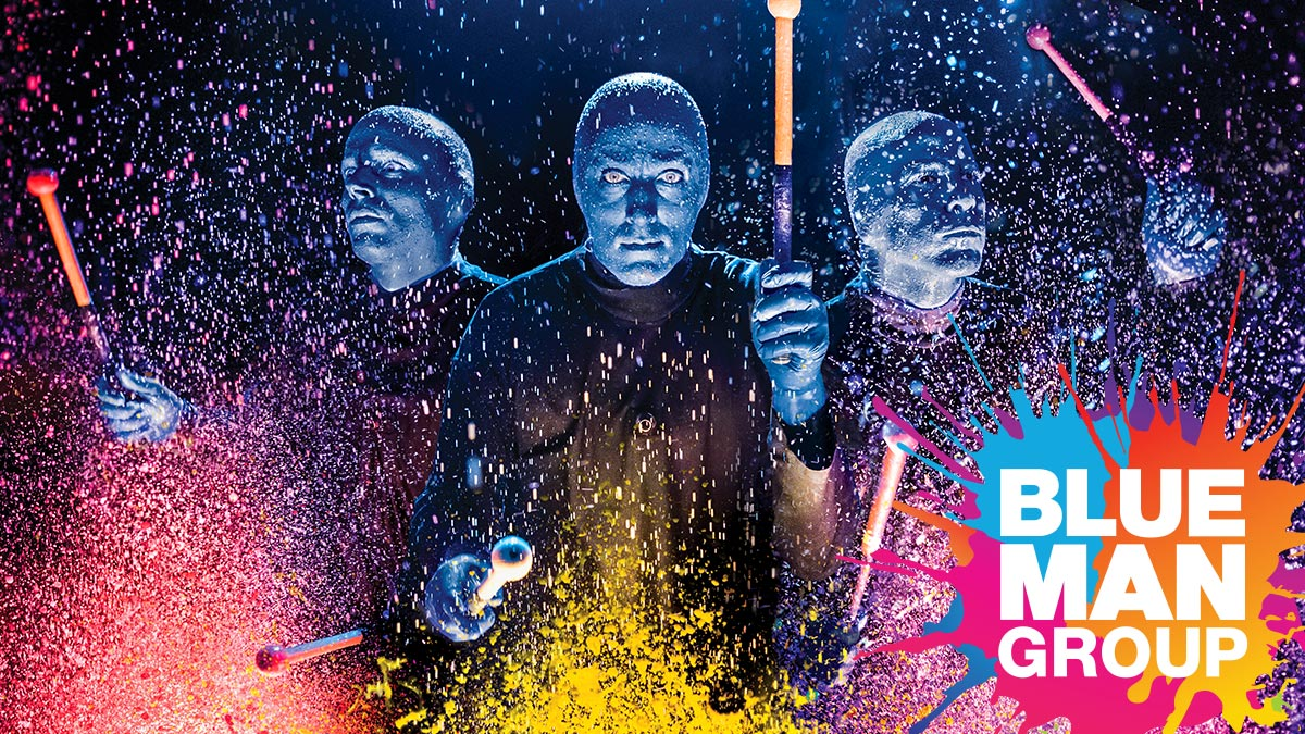 Blue Man Group off-Broadway | Tickets and information