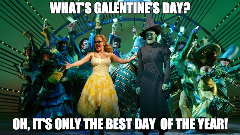 Galentine's Day on Broadway