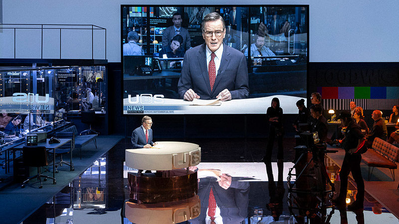 Brian Cranston in Network on Broadway