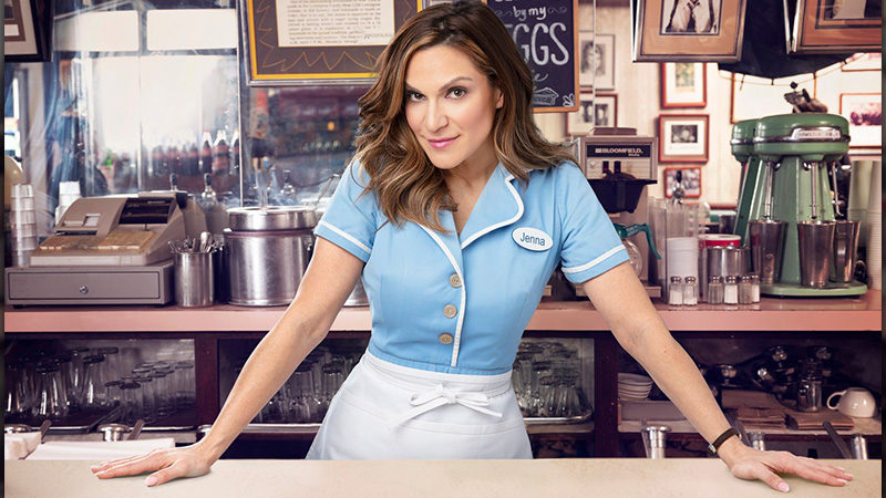 Shoshana Bean stars was Jenna in Waitress the Musical on Broadway
