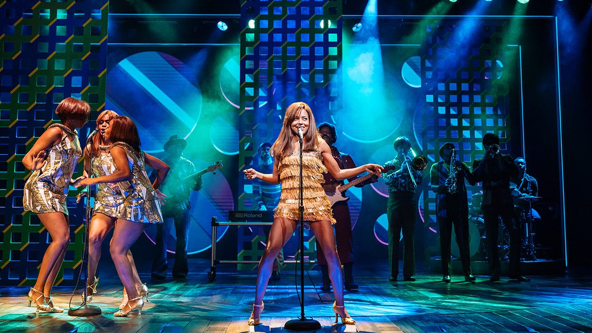 Adrienne Warren in Tina The Tina Turner Musical in London