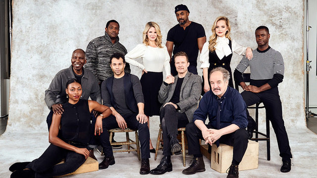 The cast of the Broadway revival of Kiss Me, Kate at Roundabout