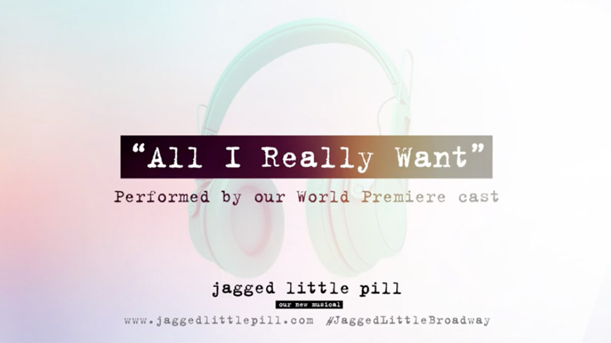 All I Really Want from Jagged Little Pill