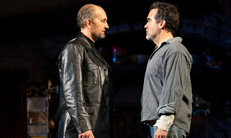 Ralph Brown and Brian d'Arcy James in <i>The Ferryman</i>. Photo by Joan Marcus.