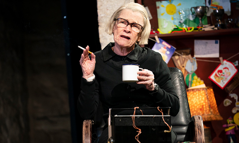 Ann McDonough in <i>The Ferryman</i>. Photo by Joan Marcus.