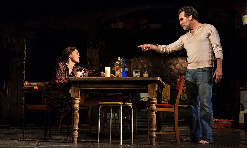 Holley Fain and Brian d'Arcy James in <i>The Ferryman</i>. Photo by Joan Marcus.