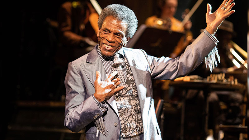Andre de Shields in Hadestown on Broadway