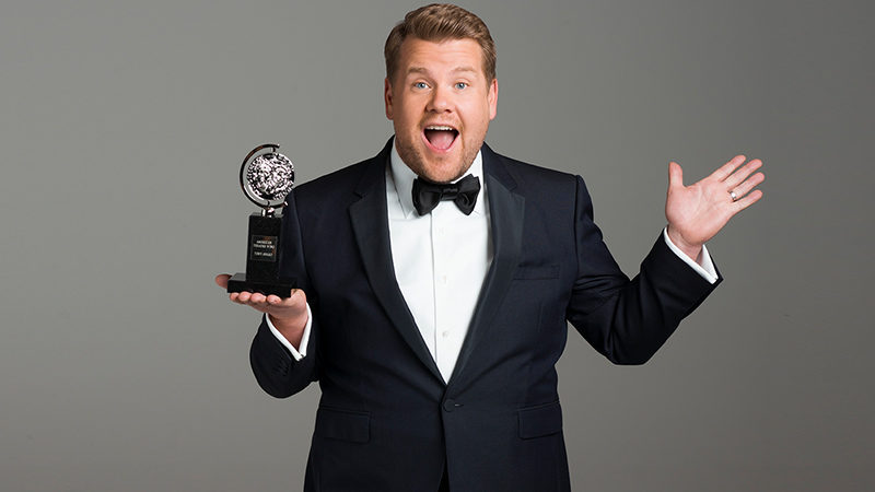 James Corden will host the 2019 Tony Awards at Radio City Music Hall