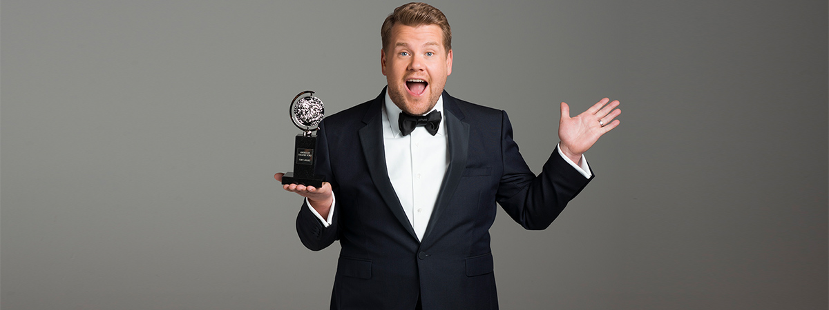 James Corden will host the 2019 Tony Awards at Radio City Music Hall