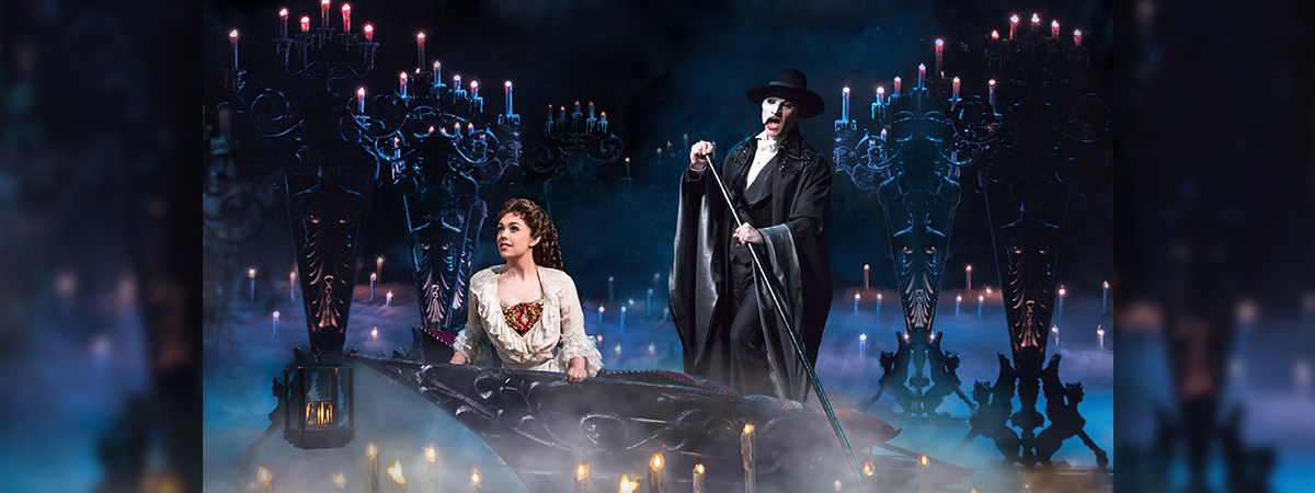 The Broadway cast of Phantom of the Opera - the longest running Broadway musical of all time