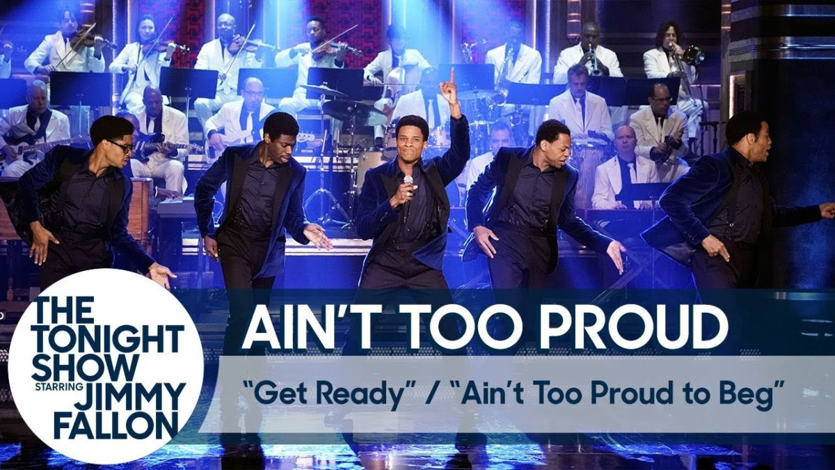 Ain't Too Proud performing on the Tonight Show with Jimmy Fallon