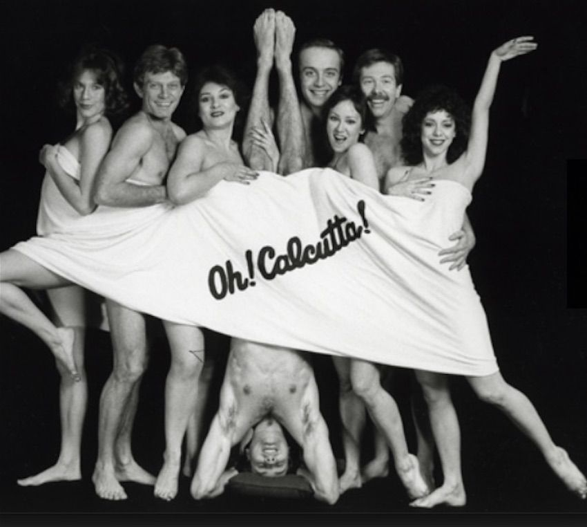 The original Broadway cast of Oh! Calcutta on Broadway.