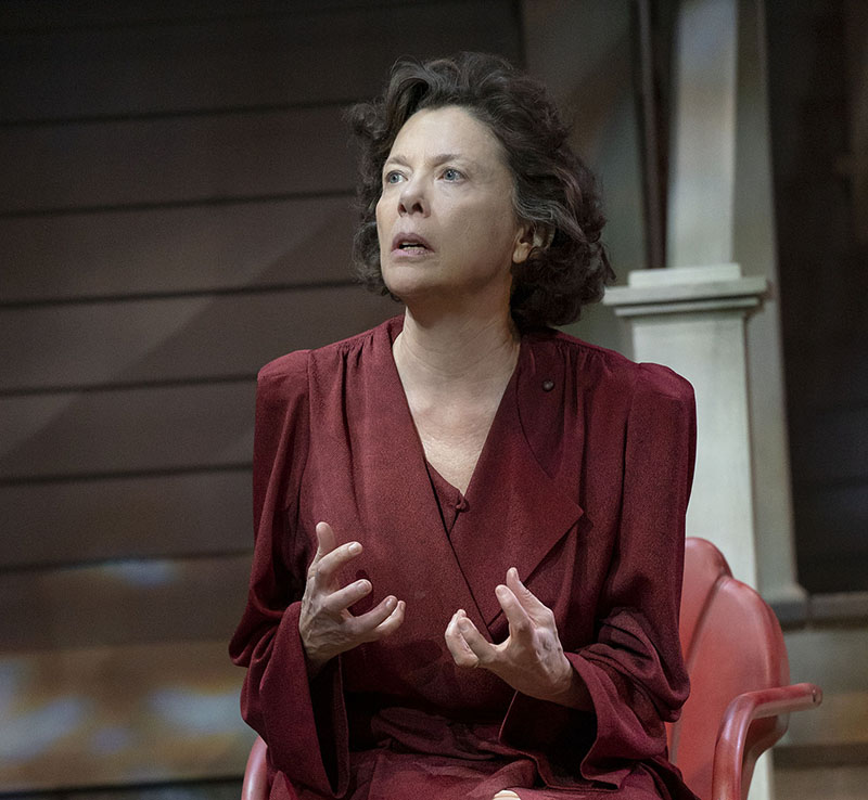 Annette Bening in <i>All My Sons</i>. Photo by Joan Marcus.