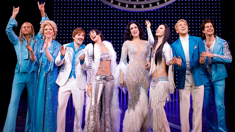 The Broadway cast of The Cher Show - The cast album of the Broadway production will drop April 12