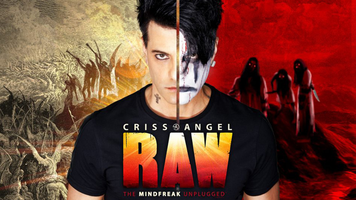 Criss Angel In Residence on Broadway at the Lunt fontanne Theatre