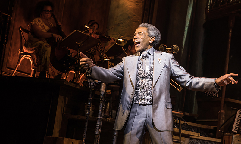 Andre De Shields in <i>Hadestown</i>. Photo by Matthew Murphy.