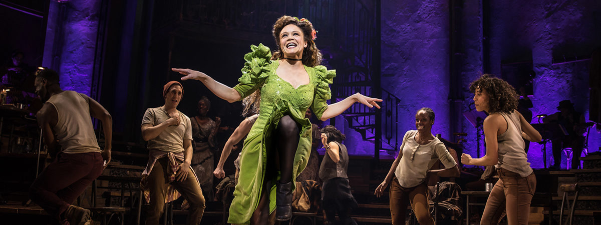 Amber Gray and the Broadway Cast of Hadestown.
