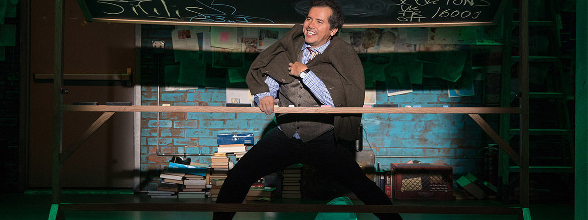 John Leguizamo performs in Latin History for Morons on Broadway - set to go on tour