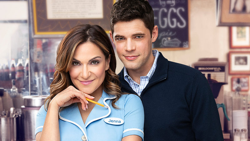 Shoshana Bean and Jeremy Jordan star in Waitress the Musical on Broadway