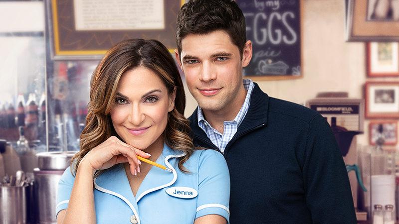 Shoshana Bean and Jeremy Jordan star in Waitress the Musical on Broadway