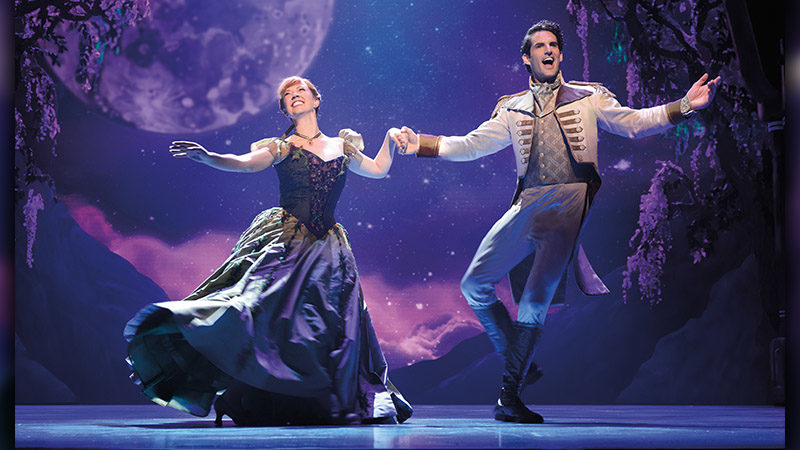 The Broadway cast of Frozen - Family Friendly Broadway Shows