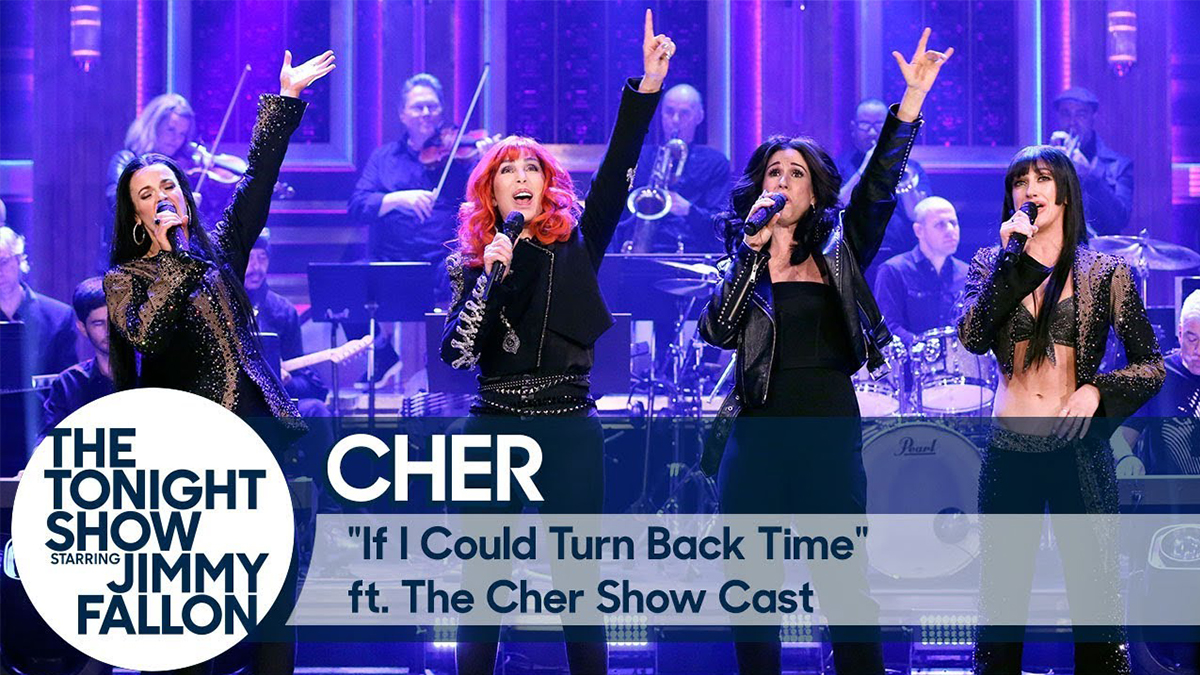 Cher and The Cher Show on The Tonight Show