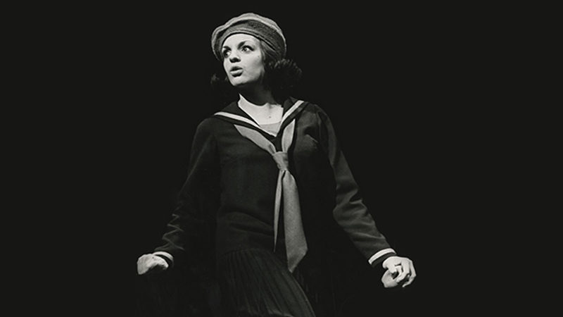 Liza Minnelli in Flora the Red Menace on Broadway