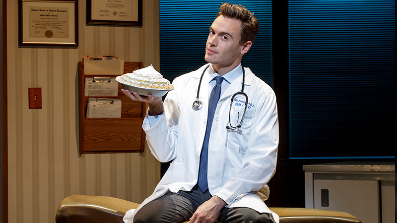 Erich Bergen to return to Waitress on Broadway