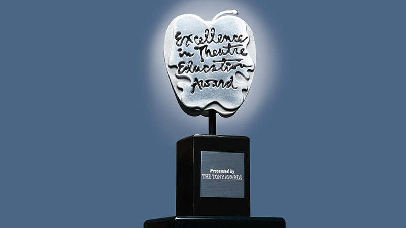 Excellence in Theatre Education Award Announced