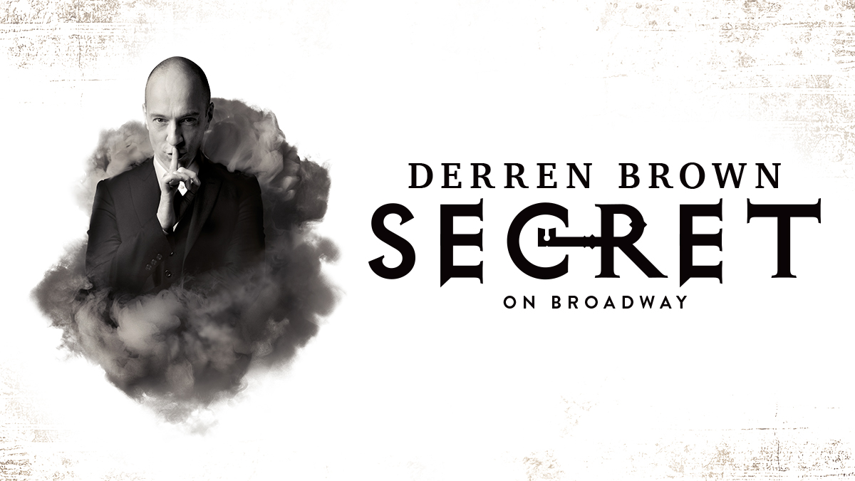 Darren Brown Secret on Broadway tickets & information