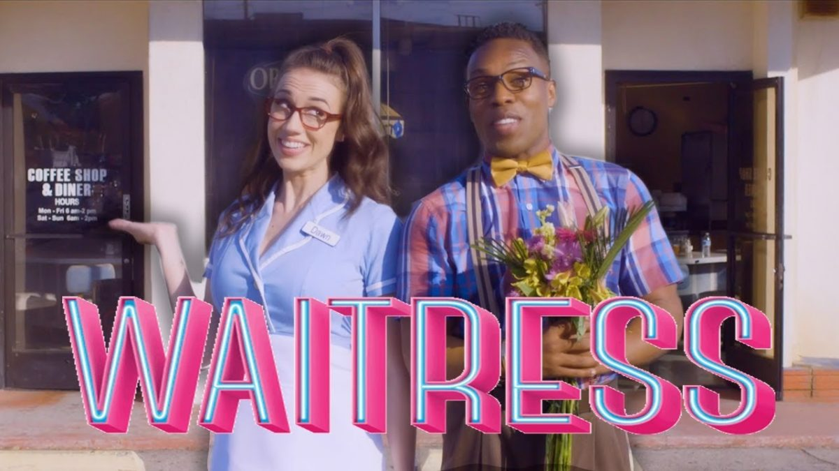 Colleen Ballinger and Todrick Hall star in Waitress on Broadway