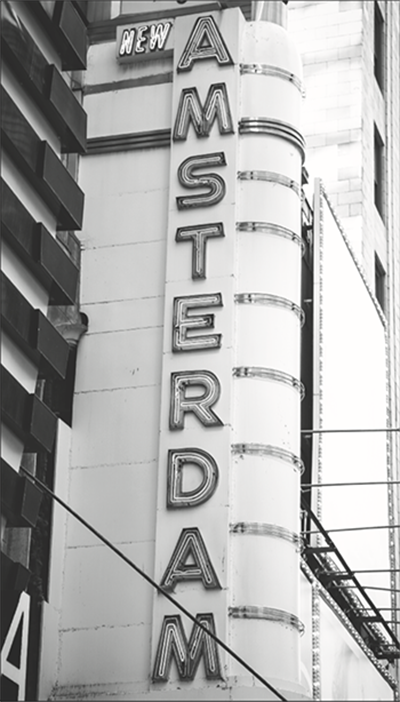 New Amsterdam Theatre History