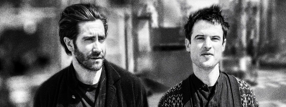 Jake Gyllenhaal and Tom Sturridge for Sea Wall/A Life on Broadway