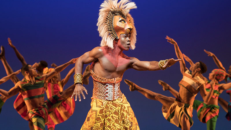 Webonly as Simba in The Lion KIng on Broadway