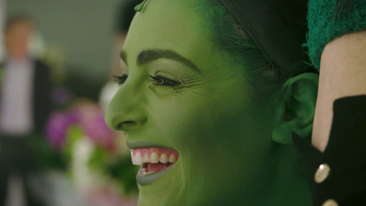 Wicked's Newest Elphaba Gets Into the Green Makeup