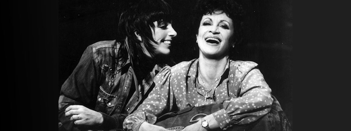 Liza Minnelli and Chita Rivera in The Rink on Broadway