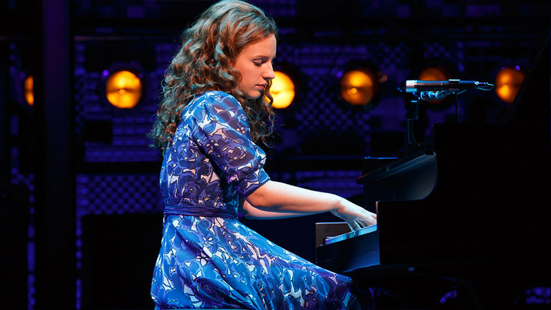 Jessie Mueller in Beautiful the Carole King Musical
