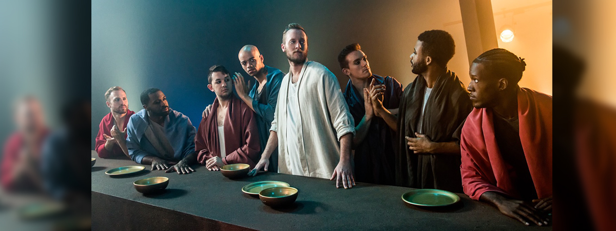 The cast of the 50th Anniversary tour of Jesus Christ Superstar