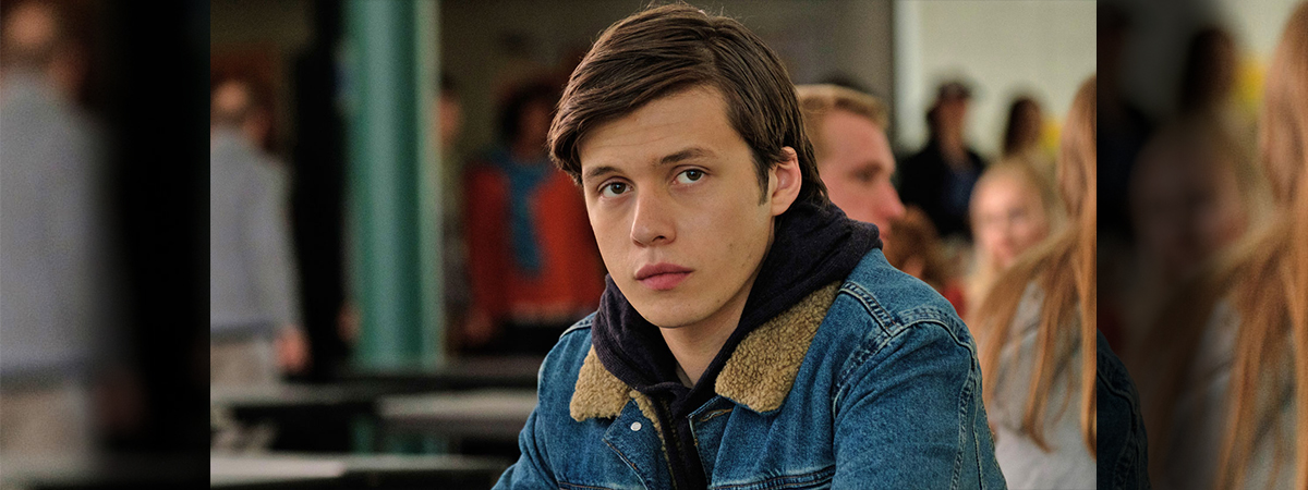 Nick Robinson in a still shot of Love Simon - heading to To Kill a Mockingbird on Broadway