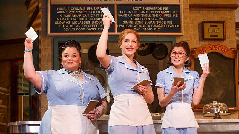 The original Broadway cast of Waitress