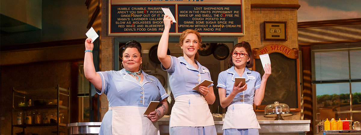 The original Broadway cast of Waitress
